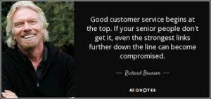 richard branson customer service
