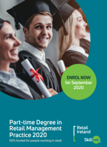 Retail Ireland Skillnet Degree in Retail Management